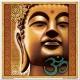 Mandala zlatý Budha