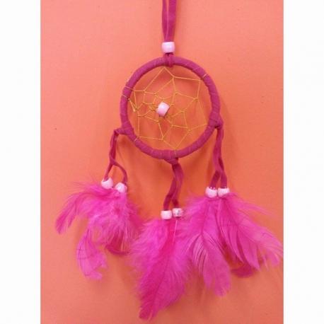 Lapač snov mini - Ružový