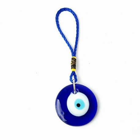 Záves - Amulet evil eye/ modré oko