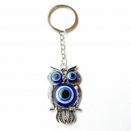 Kľúčenka - Sova modré oko