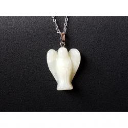Anjel jadeit náhrdelník