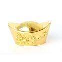 Zlatý ingot mosadz