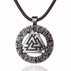 Amulet Valknut - Odinov uzol
