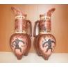 Keramická váza - Lovec