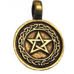 Amulet - Trámcový pentagram
